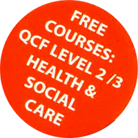 Free Courses: QCF Level 2/3 Health & Social Care