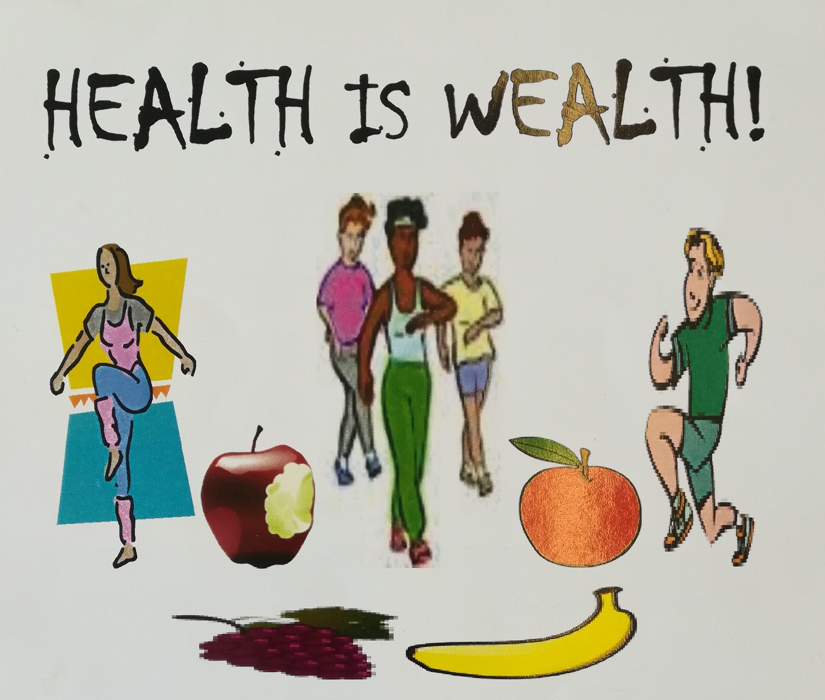 Health is Wealth flyer