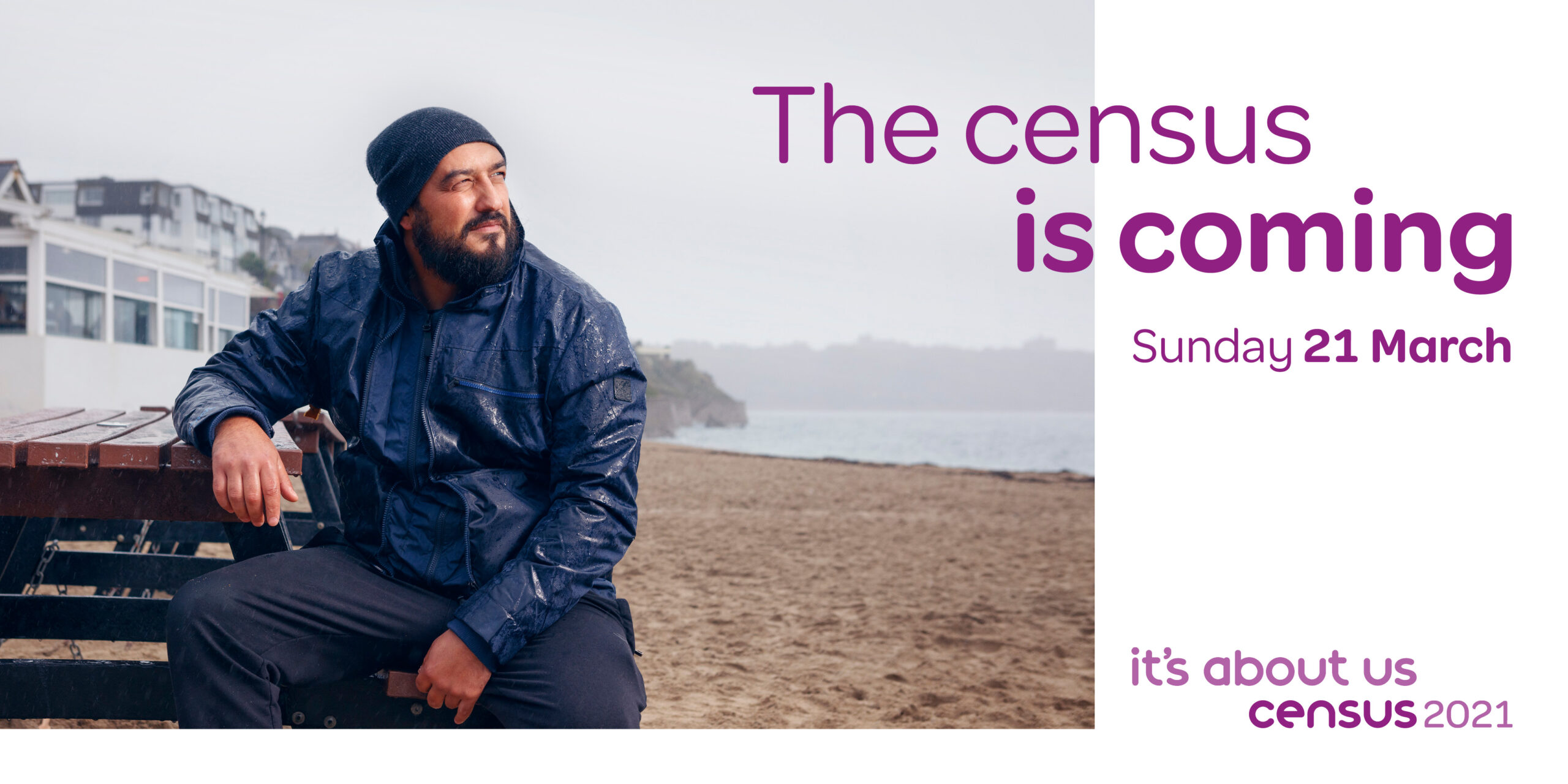 The census is coming, Sunday 21 March, it's about us census 2021